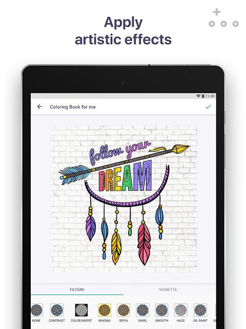 Screenshot Colouring Book for me & Mandala APK