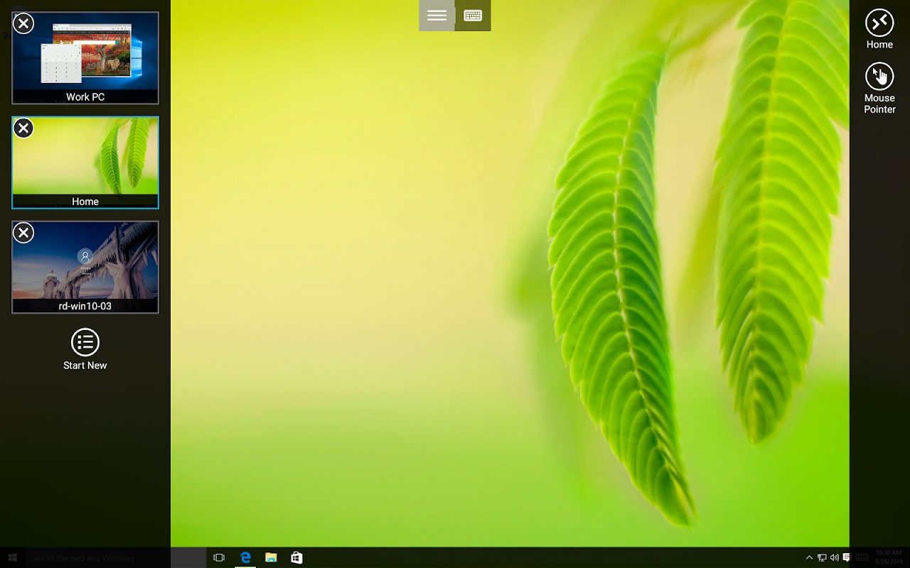 Screenshot Microsoft Remote Desktop APK