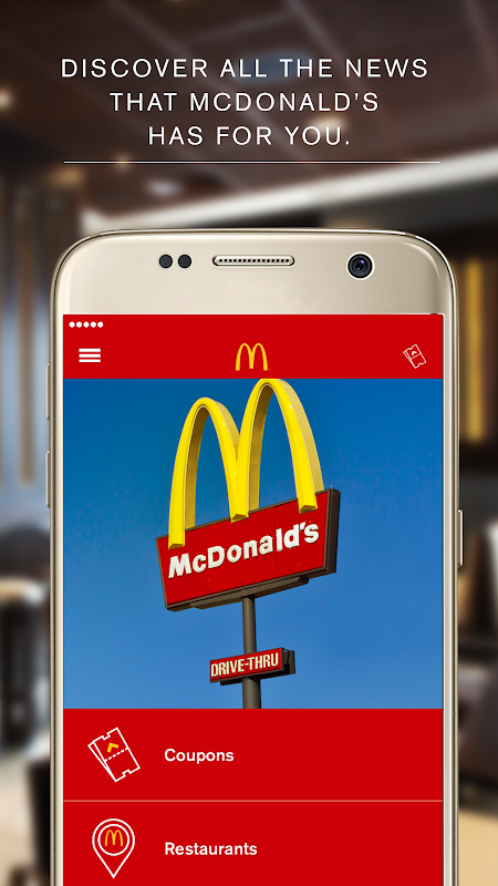 McDonald's App - Caribe The App Store android Code Lads