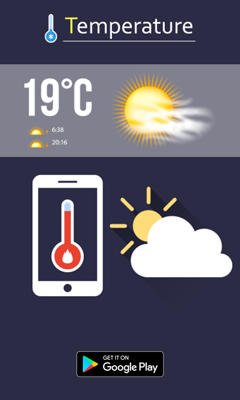 Temperature : Mobile, Room & City The App Store android Code Lads