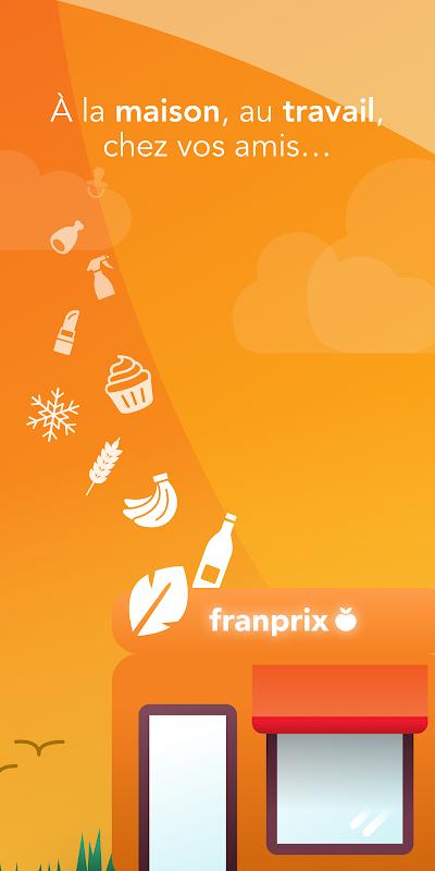 Franprix - Livraison de courses à domicile The App Store android Code Lads