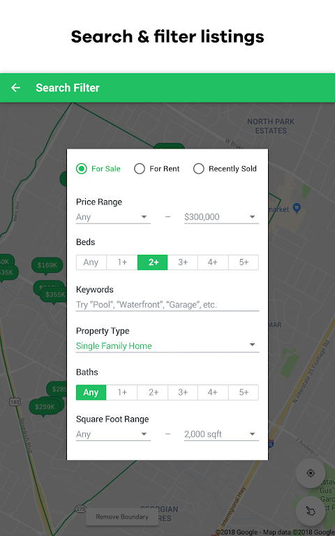 Screenshot Trulia Real Estate: Search Homes For Sale & Rent APK