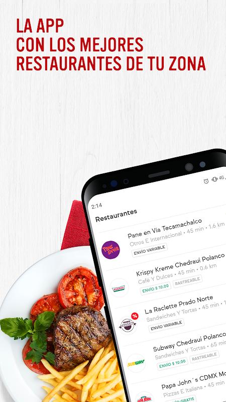 SinDelantal: Comida a domicilio The App Store android Code Lads