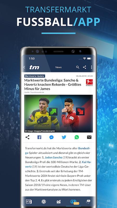 Transfermarkt: Fußballnews, Bundesliga, Liveticker The App Store