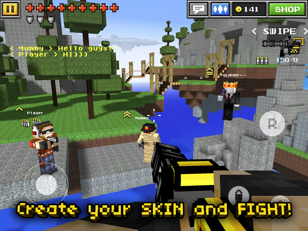 Pixel Gun 3D PRO The App Store android Code Lads