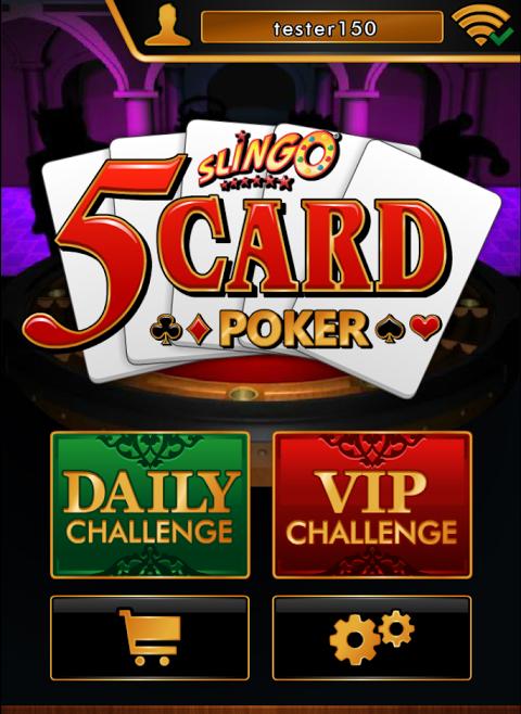 Screenshot Slingo 5 Card Poker APK