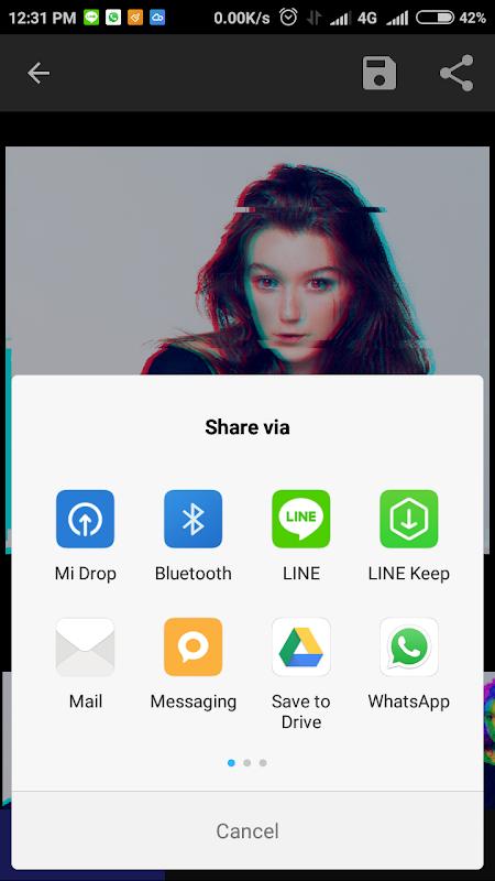 Screenshot Onetap Glitch - Photo Editor APK