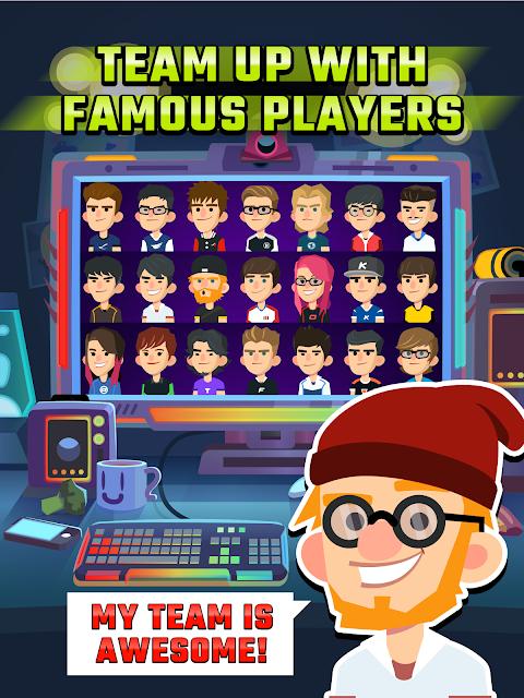 Screenshot League of Gamers - Be an E-Sports Legend! APK