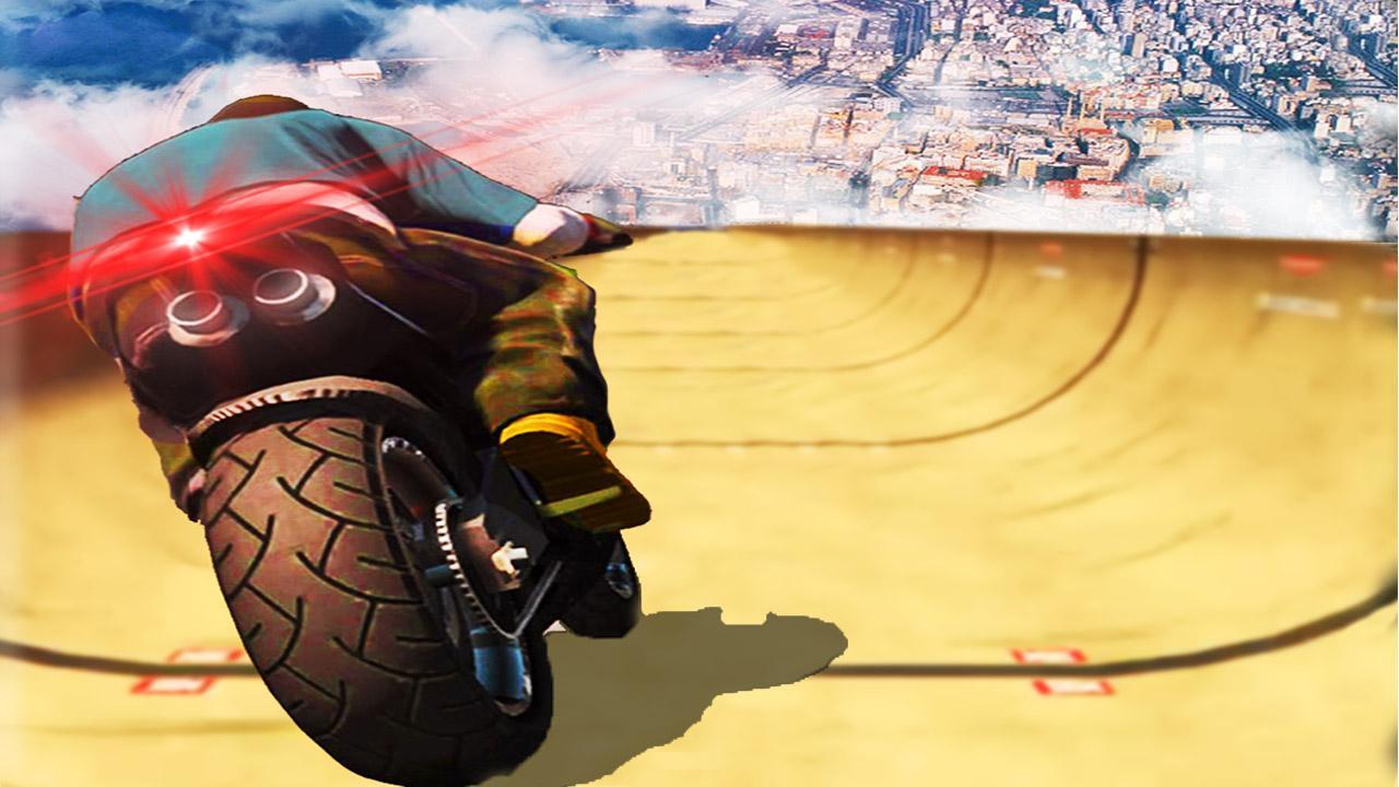 Screenshot Impossible Mega Ramp Moto Bike Rider: Superhero 3D APK