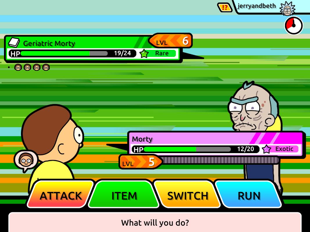 Screenshot Pocket Mortys APK