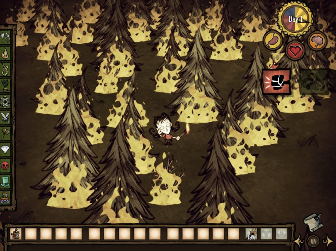 Screenshot Don't Starve: Pocket Edition APK