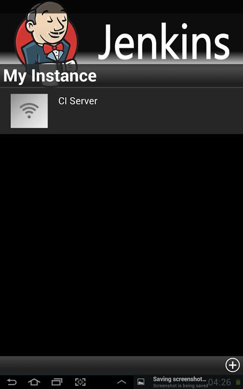 Screenshot Jenkins Android APK