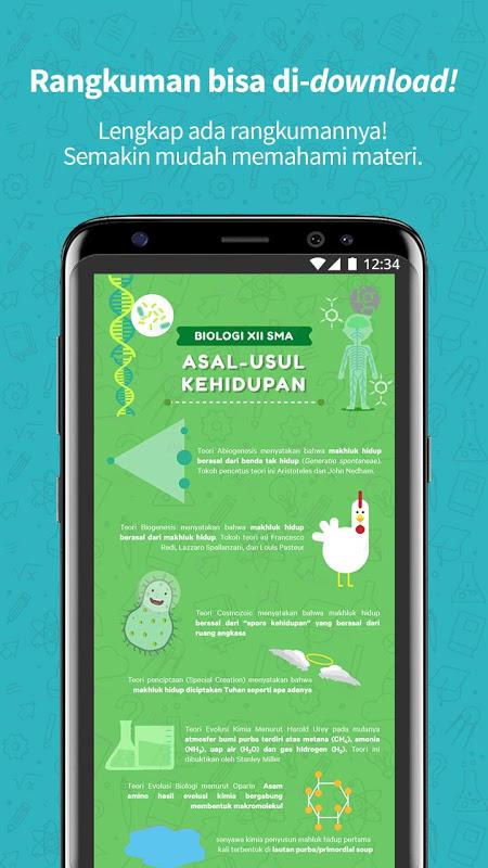 Screenshot Ruangguru - One-stop Learning Solution APK