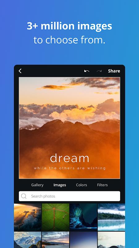 Screenshot Canva - Free Photo Editor & Graphic Design Tool APK