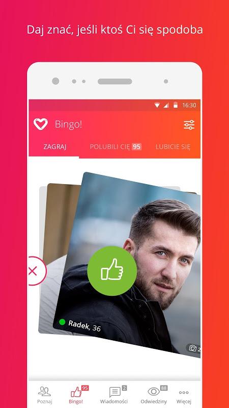 Screenshot Sympatia – randki, flirt, czat APK