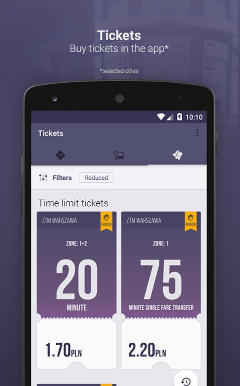 Screenshot Jakdojade: public transport APK