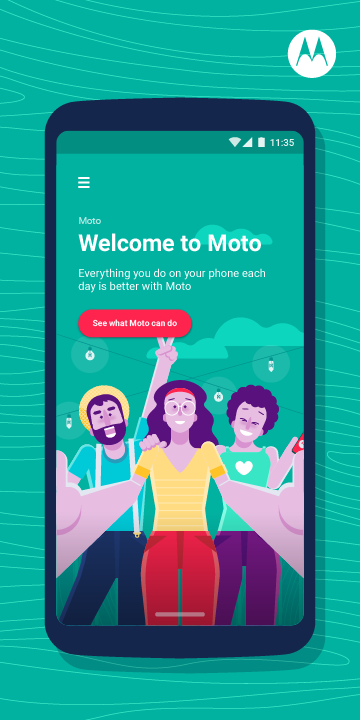 Moto The App Store android Code Lads
