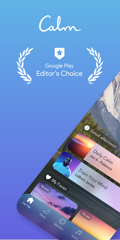 Calm - Meditate, Sleep, Relax The App Store