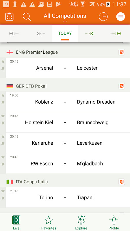Futbol24 The App Store android Code Lads
