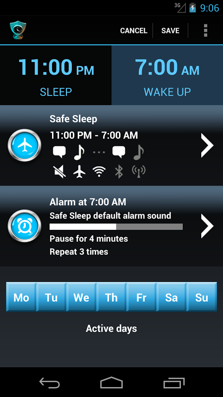Safe Sleep - Alarm Clock ! The App Store android Code Lads
