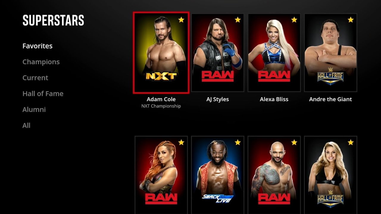 WWE Network The App Store
