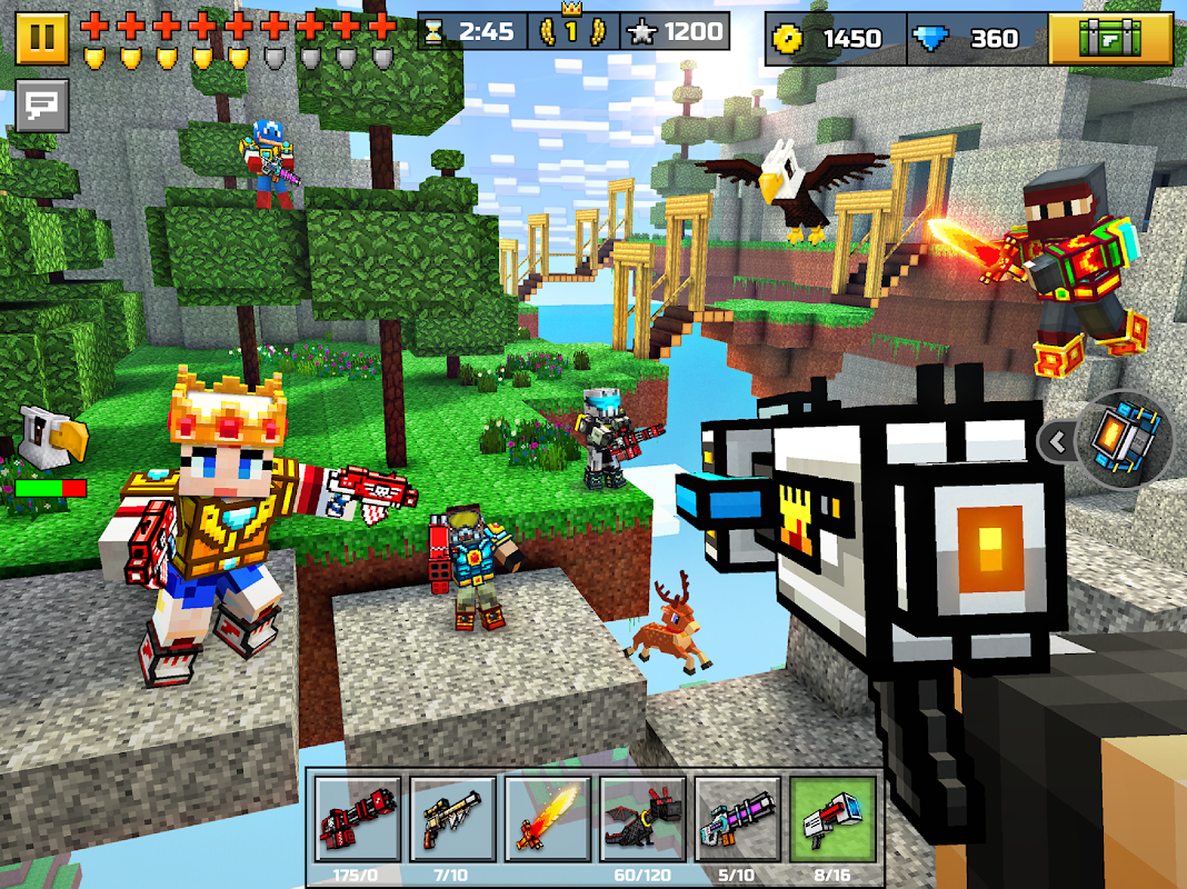 Screenshot Pixel Gun 3D (Pocket Edition) APK