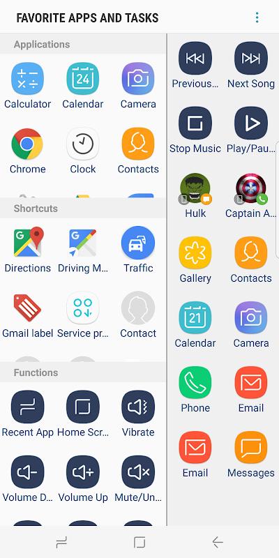 Screenshot Favorite Apps & Tasks Panel APK
