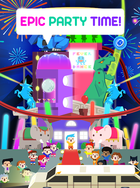 Screenshot Epic Party Clicker - Throw Epic Dance Parties! APK