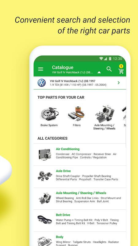 Screenshot 🚘 Buycarparts: auto spares, car parts, tyres, oil APK