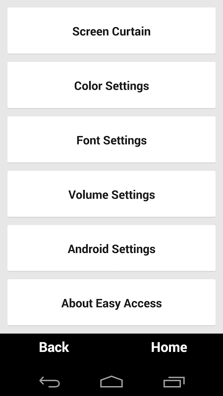 Screenshot EasyAccess for Android APK