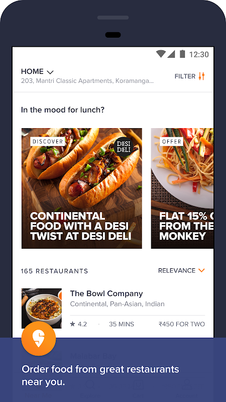 Swiggy Food Order & Delivery The App Store