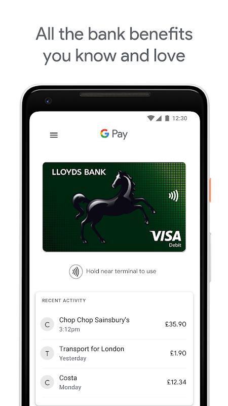 Screenshot Android Pay APK
