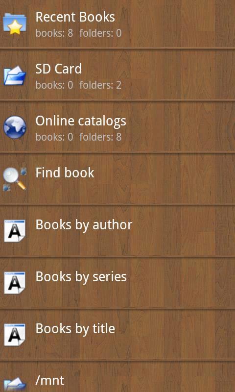 Screenshot Cool Reader APK