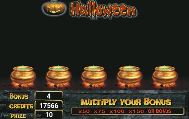 Screenshot Caça Níquel Halloween Lite APK