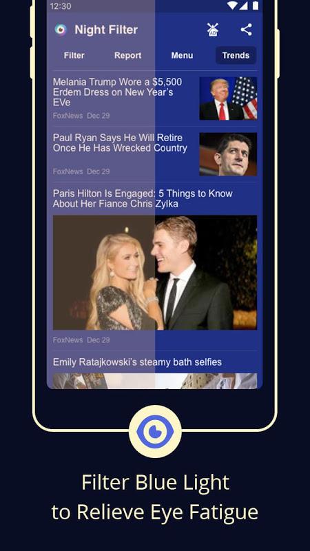 Blue Light Filter – Screen Dimmer for Eye Care The App Store