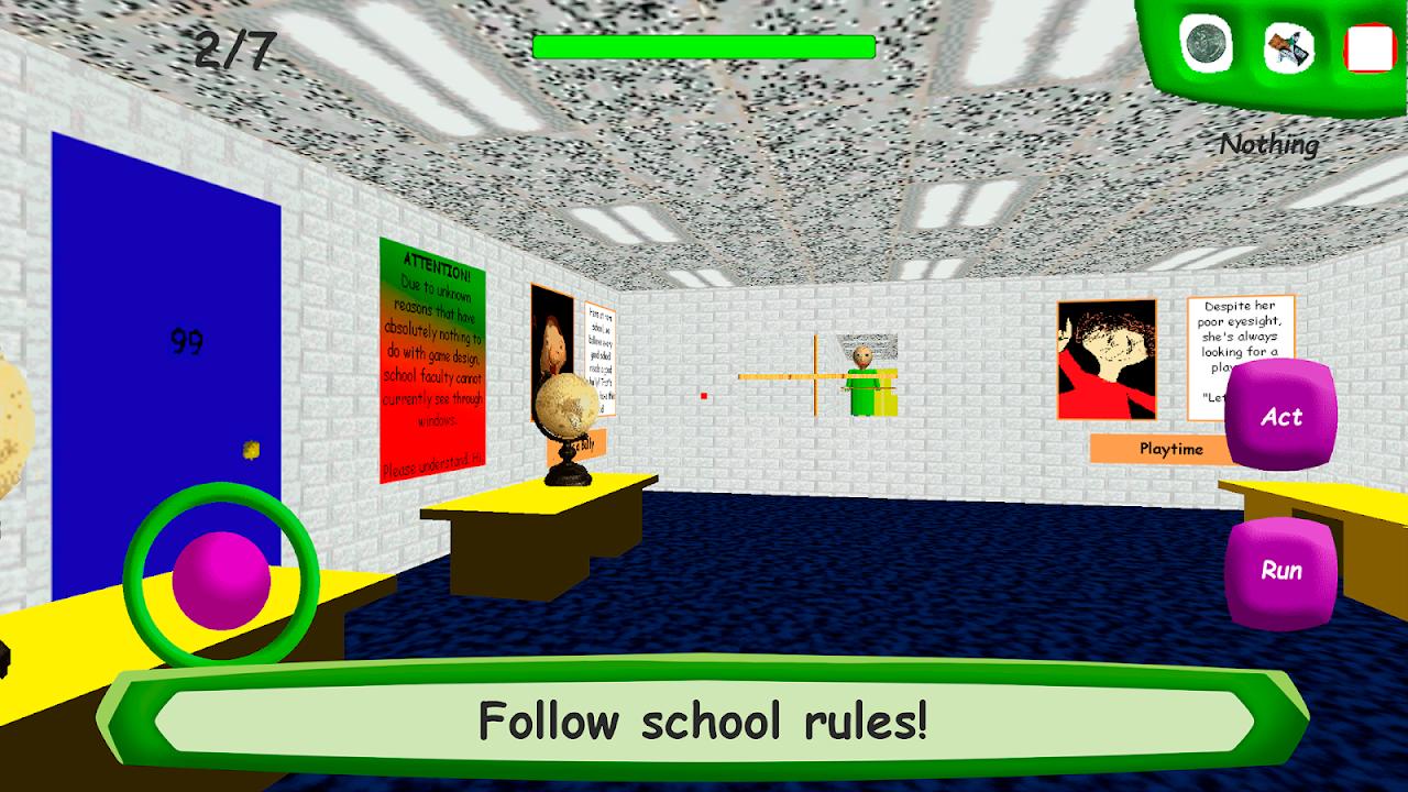 Screenshot Baldi's Basics in Education APK