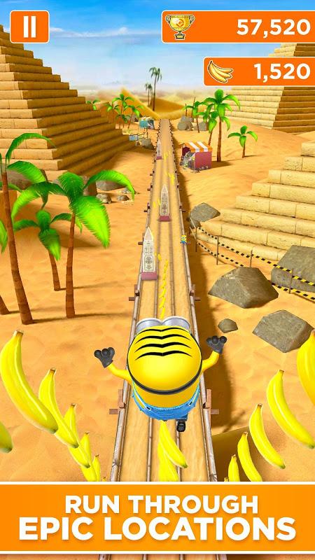 Screenshot Despicable Me: Minion Rush APK