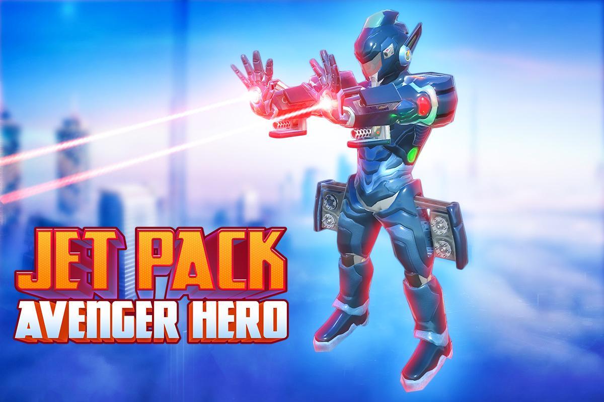 Screenshot Jetpack Hero Avenger: Crime Warrior APK