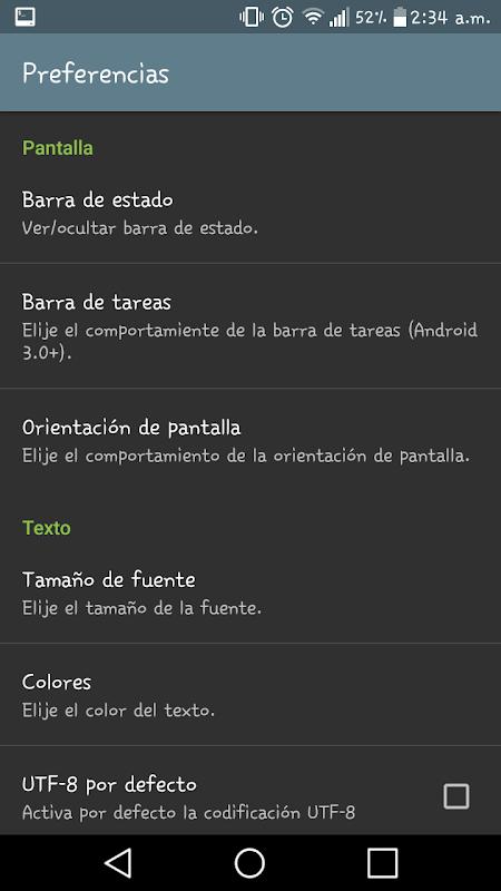 Screenshot Terminal Android APK