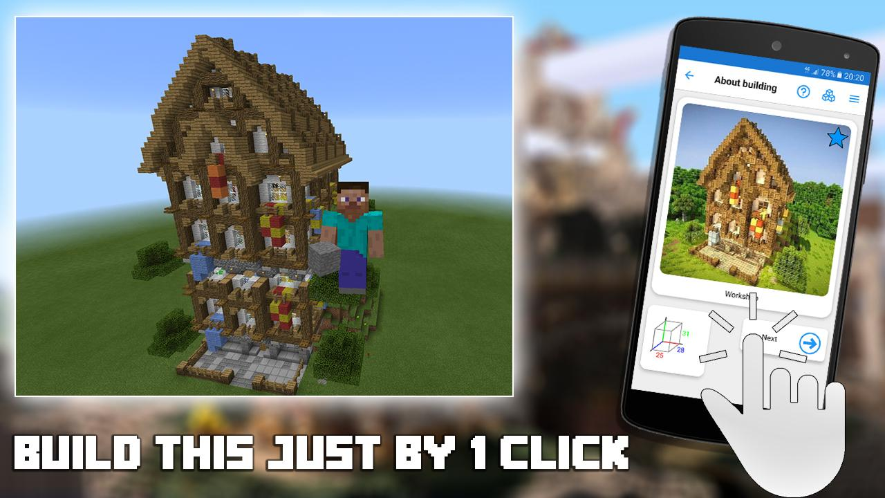 Builder PRO for Minecraft PE The App Store android Code Lads