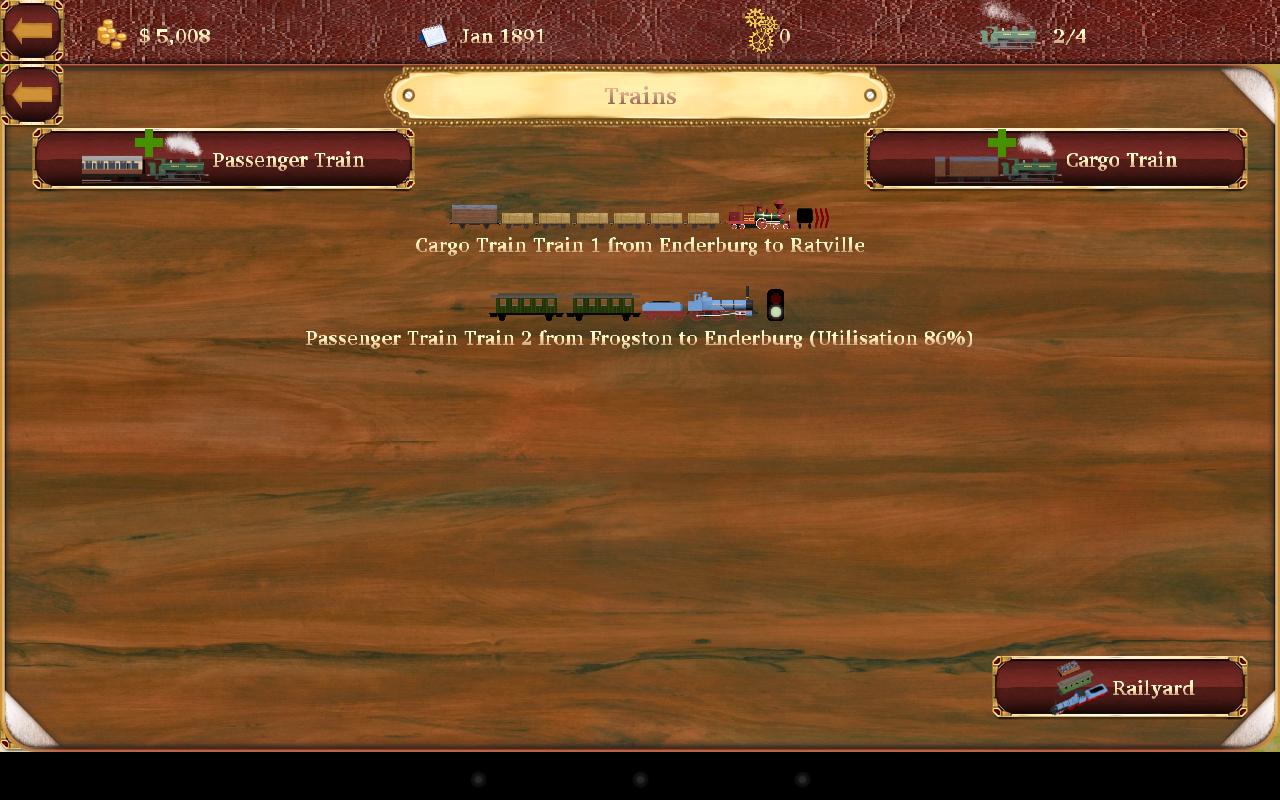 Screenshot Railroad Manager 2 APK