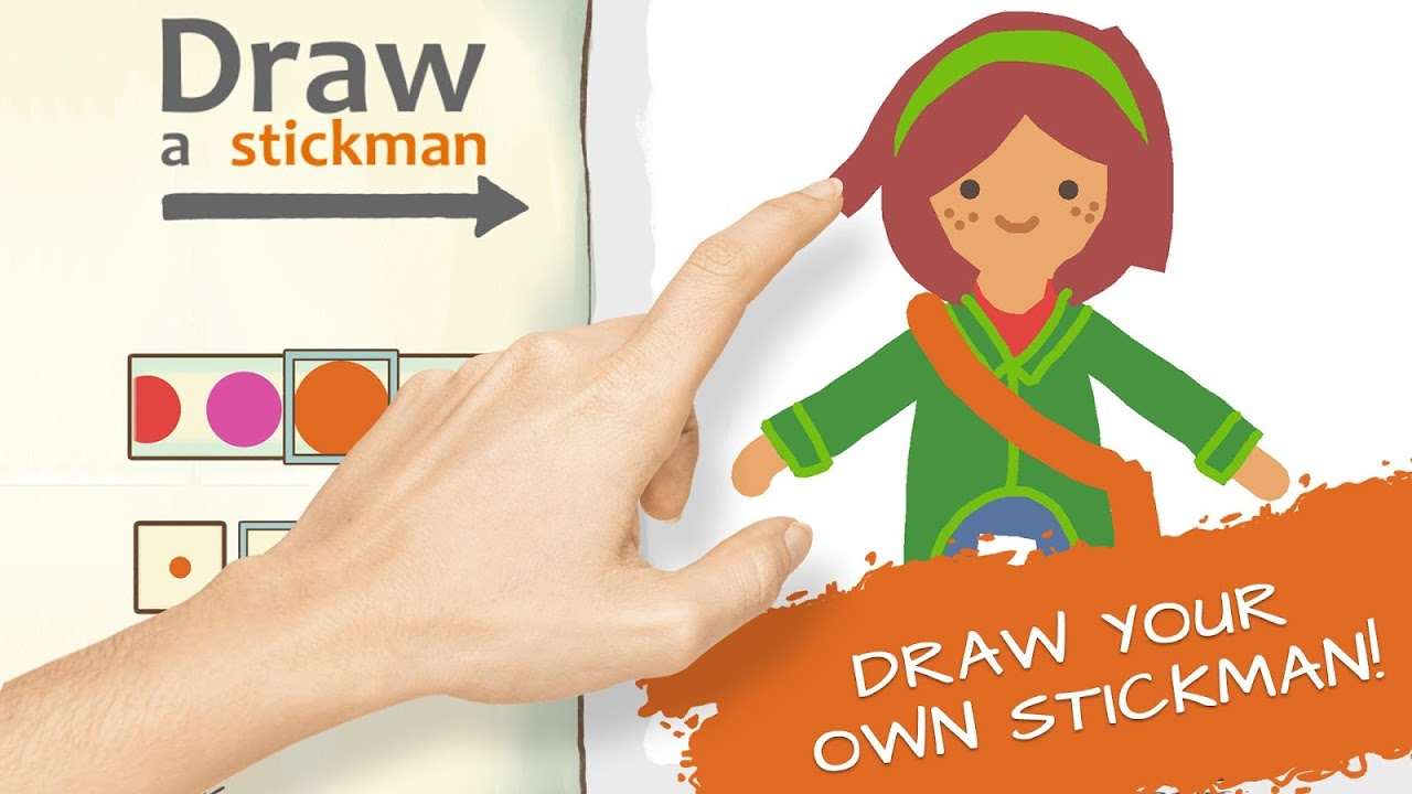 Draw a Stickman: EPIC 2 The App Store android Code Lads