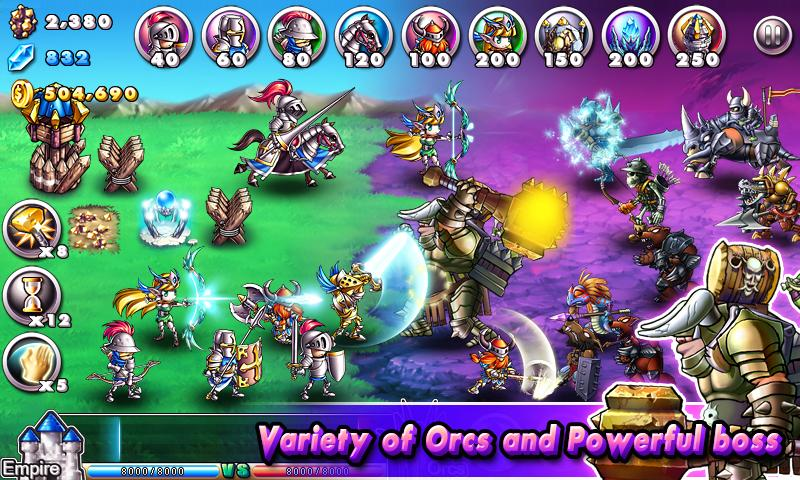 Screenshot Empire VS Orcs APK