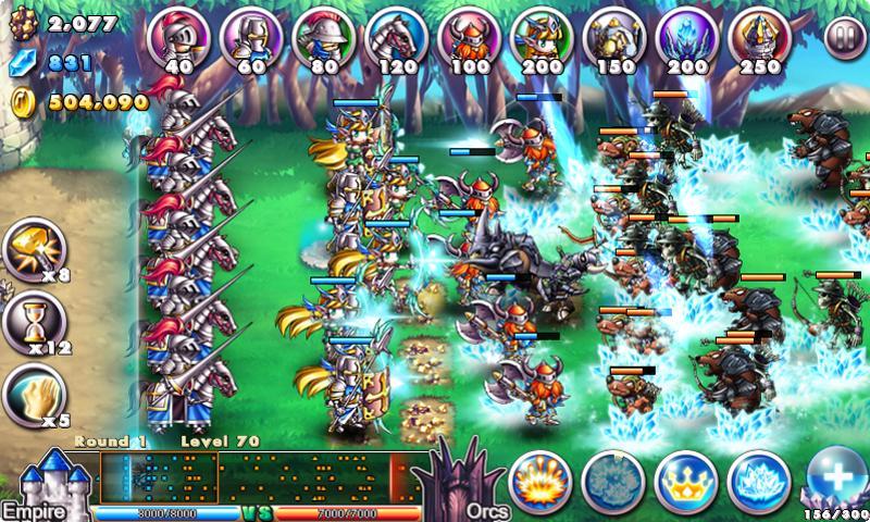 Screenshot Empire VS Orcs APK