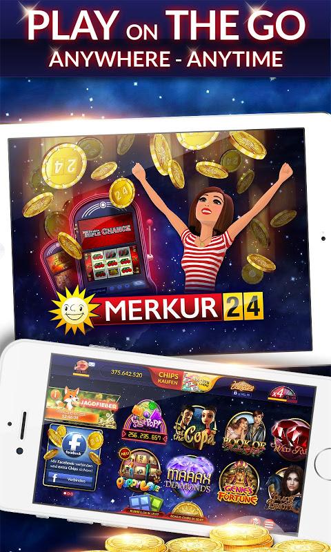 Screenshot MERKUR24 – Online Casino & Slot Machines APK