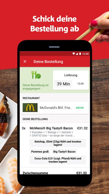 Screenshot LIEFERHELD | Order Food APK