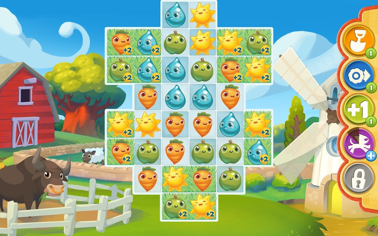 Screenshot Farm Heroes Saga APK