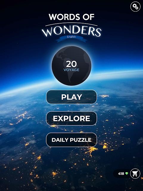 Screenshot Words Of Wonders APK