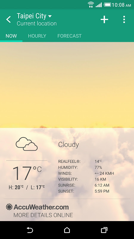 Screenshot HTC Weather APK