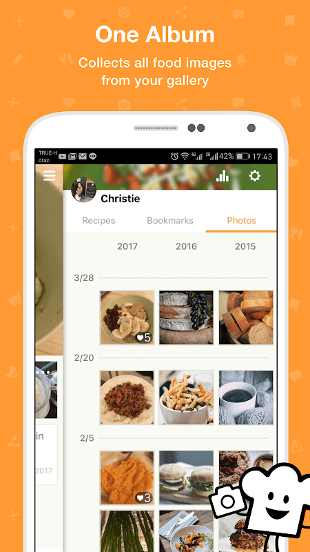 Screenshot Cookpad - home cooking recipe manager APK